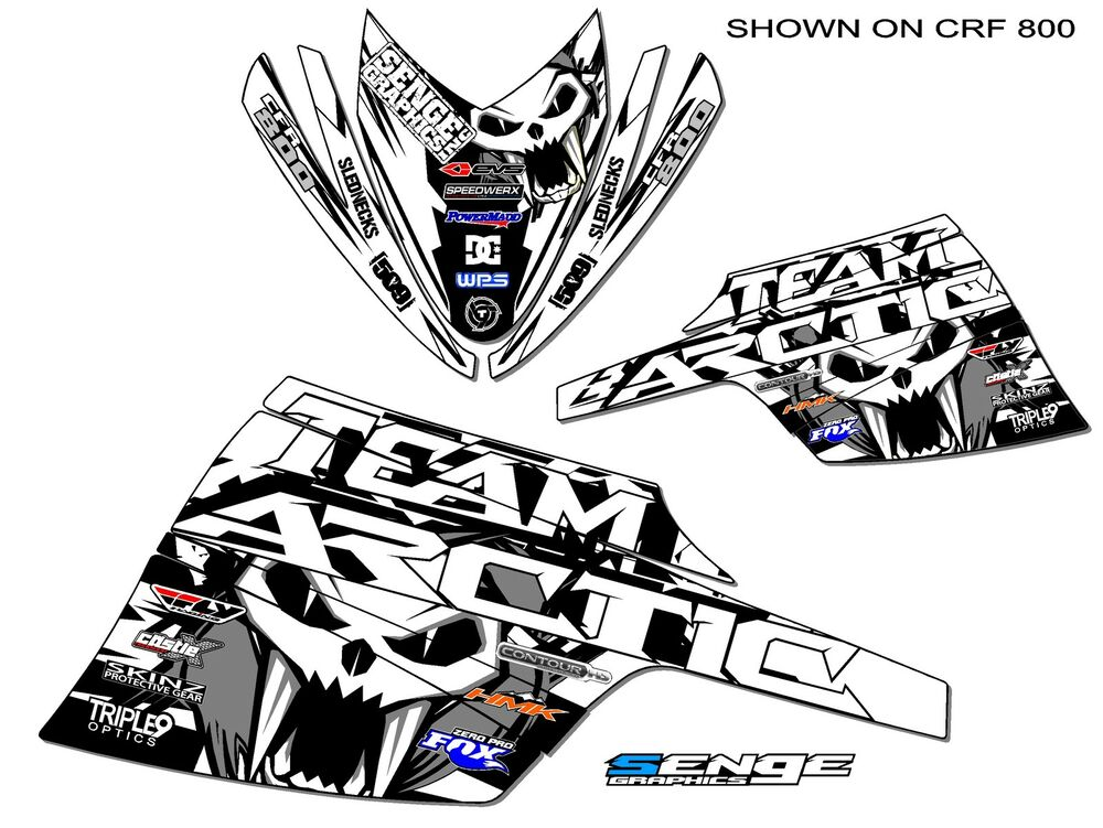 ALL YEARS ARCTIC CAT F SERIES GRAPHICS KIT DECO WRAP DECOR