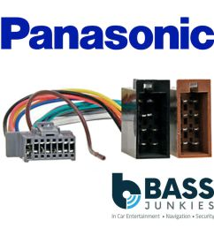 details about panasonic 16 pin grey iso replacement car stereo radio wiring loom harness lead [ 1000 x 1000 Pixel ]