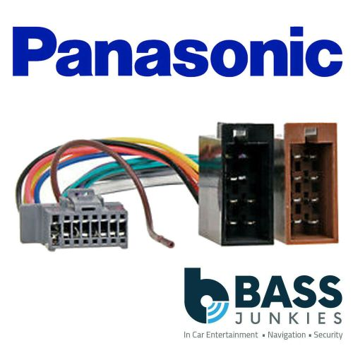 small resolution of details about panasonic 16 pin grey iso replacement car stereo radio wiring loom harness lead