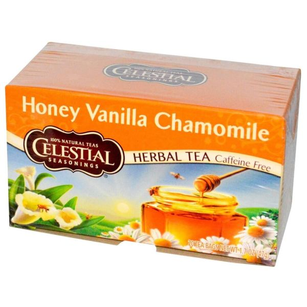 Celestial Seasonings Honey Vanilla Chamomile Tea eBay