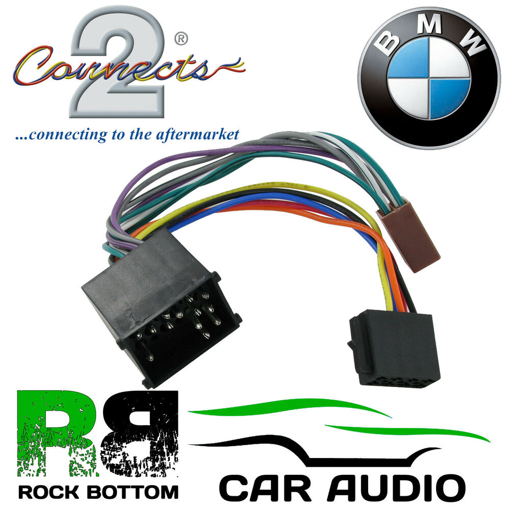 medium resolution of details about connects2 ct20bm01 bmw 3 5 7 8 z m series car stereo iso harness adaptor lead
