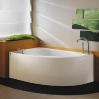NEPTUNE WIND 60x36 CONTEMPORARY CORNER BATH TUB SOAKER (NO ...