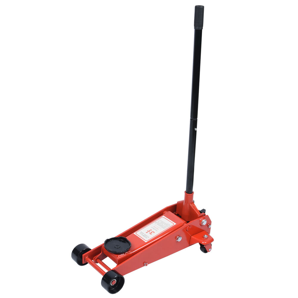 35 Ton Floor Jack Heavy Duty Garage Car Auto Swivel Saddle Hydraulic Lift  eBay