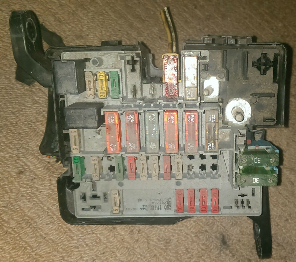 hight resolution of peugeot 206 fuse box for sale