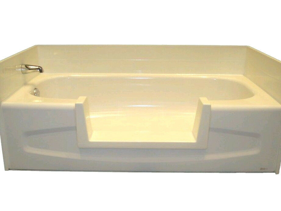 Walk In Bath Tub Shower Easy Step Through Insert DIY Conversion Senior Safety EBay