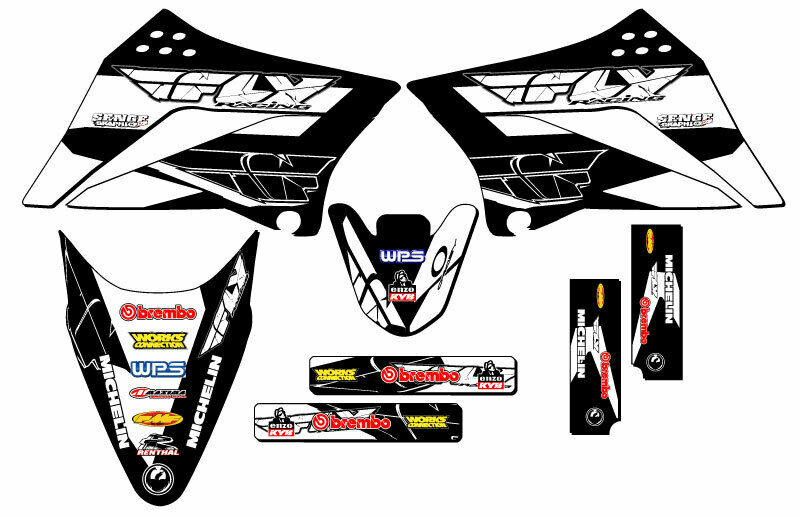 2010 2011 2012 2013 2014 2015 2016 2017 KLX 110 GRAPHICS