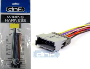 CAR STEREO CD PLAYER AFTERMARKET RADIO WIRING HARNESS (70