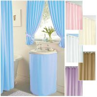 Plain Dyed ***CLEARANCE*** bathroom curtains, shower ...