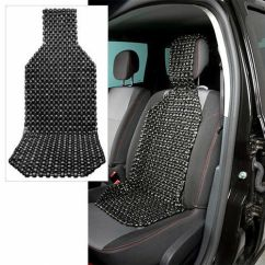 Relax The Back Chair For Sale Therapy Ball Wood Beaded Car Seat Cushion, Cover Massager, Black, Us Seller | Ebay
