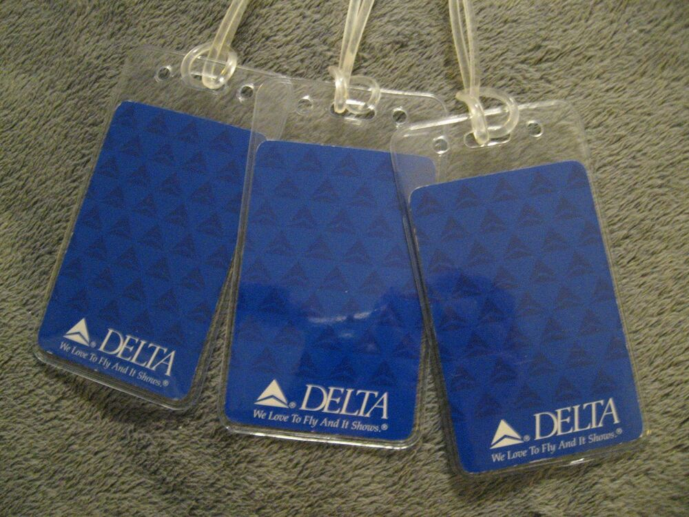 Delta Airlines We Love To Fly DAL Vintage Playing Card