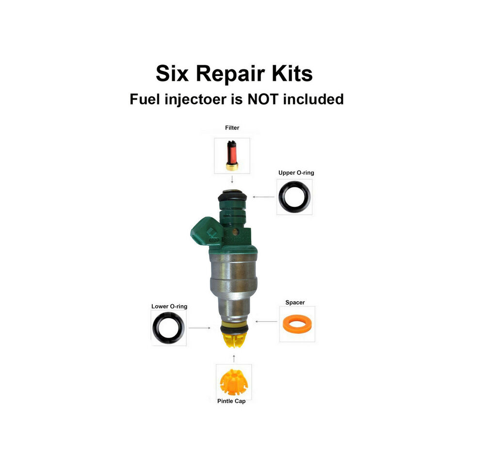 Fuel Injector Service Repair Kit (004) fits BMW 323 325 M3