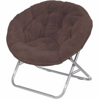 Portable Lounge Chair Folding Round Seat Gaming Dorm Home ...