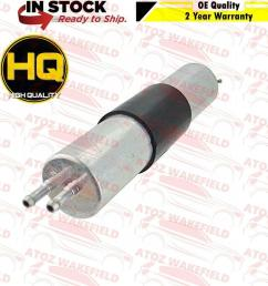 for bmw 3 series e46 320 325 330 316 318 fuel filter pressure genuine oe quality  [ 1000 x 1000 Pixel ]