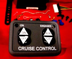 Rostra 2501223 Universal Cruise Control Kit for OLDER