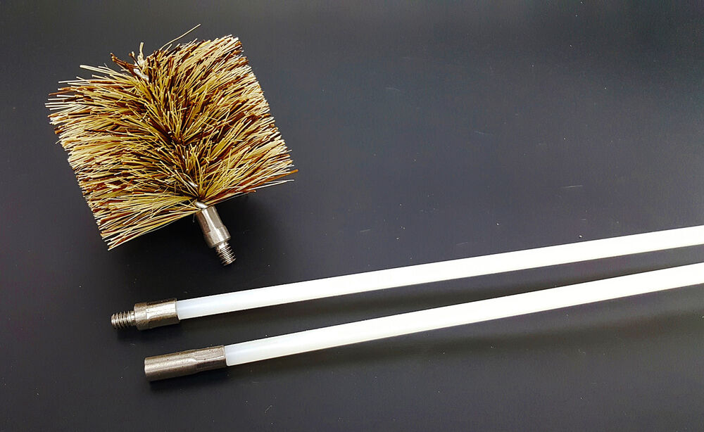 Vent Exhaust Flue Cleaning Kit Pellet Stove & Fireplace