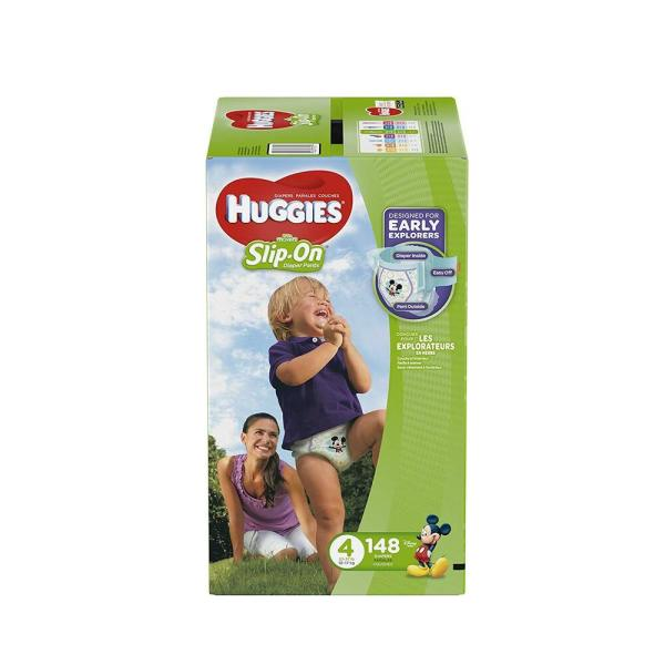 Huggies Little Movers Diapers Size 4