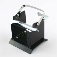Black Metal Soldering Solder Spool Wire Stand Holder With ...