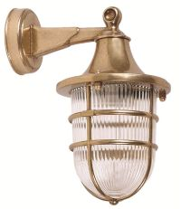 Brass wall sconce High quality lighting. Marine & Nautical ...