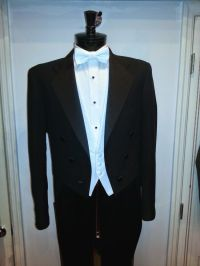 "Mens / Boys "" White Tie "" Black Tailcoat Tuxedo Jacket ..."