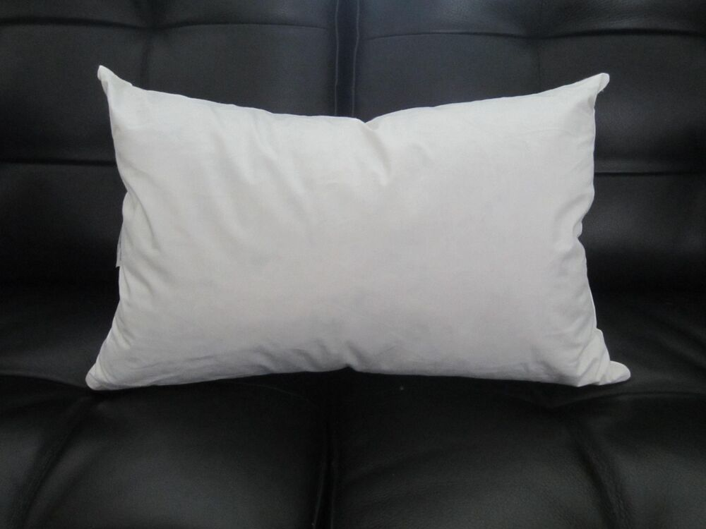 "FEATHER / DOWN 16"" Rectangle Pillow Insert Form"