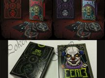 EERIE BICYCLE PLAYING CARDS RED PURPLE BLACK HORROR ULTRA ...