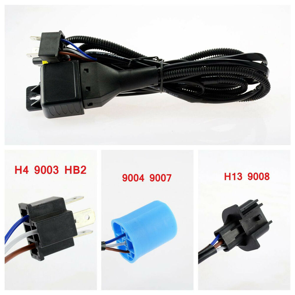 hight resolution of hid hi lo bi xenon relay harness wiring controller h4 9003 9004 9007 h13 9008