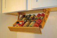 Under Cabinet Mini Spice Rack Ultimate Kitchen Storage ...
