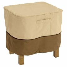 Square Patio Ottoman End Table Cover Deck Furniture Winter
