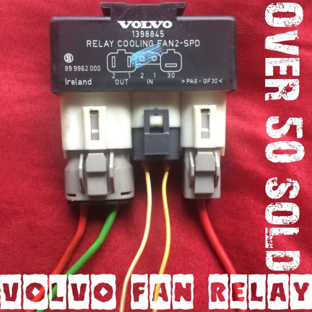 medium resolution of details about volvo fan relay hotrod truck 4x4 taurus lincoln electric swap 2 speed hot rod