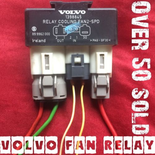 small resolution of details about volvo fan relay hotrod truck 4x4 taurus lincoln electric swap 2 speed hot rod
