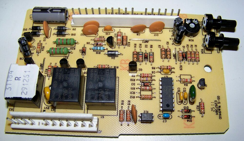 Genie Garage Door Opener 38877rs Circuit Board