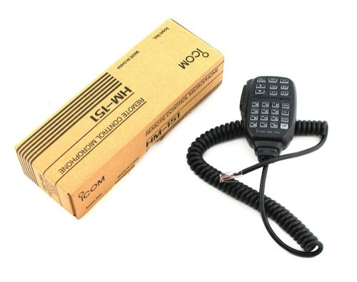 small resolution of new icom hm 151 hand mic up down function modular plug for ic 7000 ic 7100 731797005311 ebay