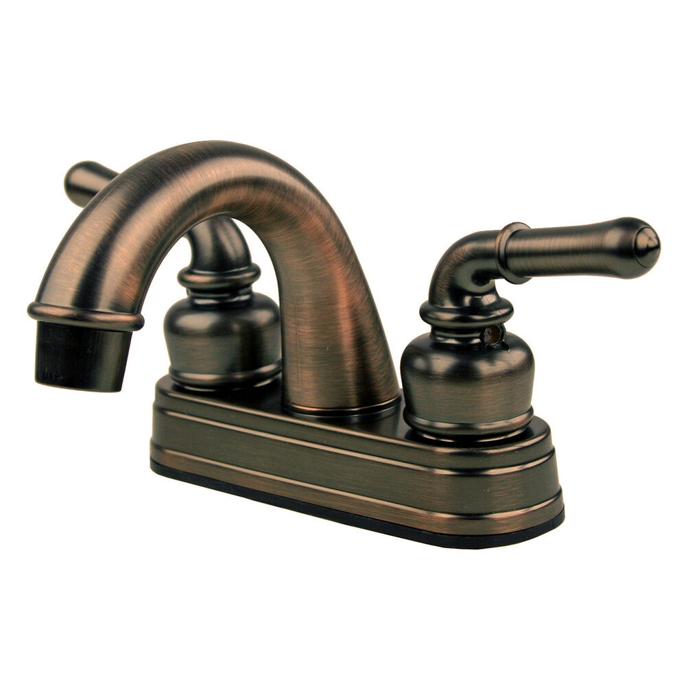 RV  Mobile Motor Home Bathroom Sink Faucet Oil Rubbed