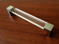 "6.3"" Large Acrylic Drawer Pulls Kitchen Cabinet Door ..."