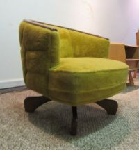 Mid Century Danish Modern Pearsall Era Paddle Leg Swivel ...