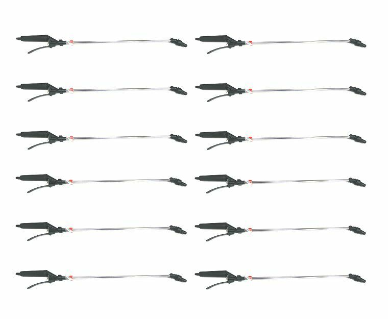 (12) SPRAY WANDS for Chemical Weed Killer Application Lawn