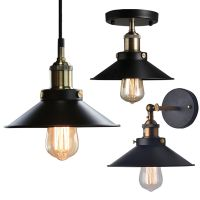 Industrial Factory Ceiling Light Pendant Wall Lamp Sconce ...