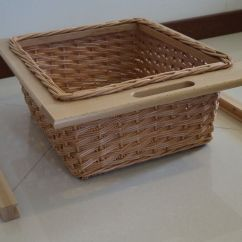Ebay Kitchen Cabinets Butcher Block Islands Unit Wicker Baskets To Suit 500mm, 600mm, Pull Out ...