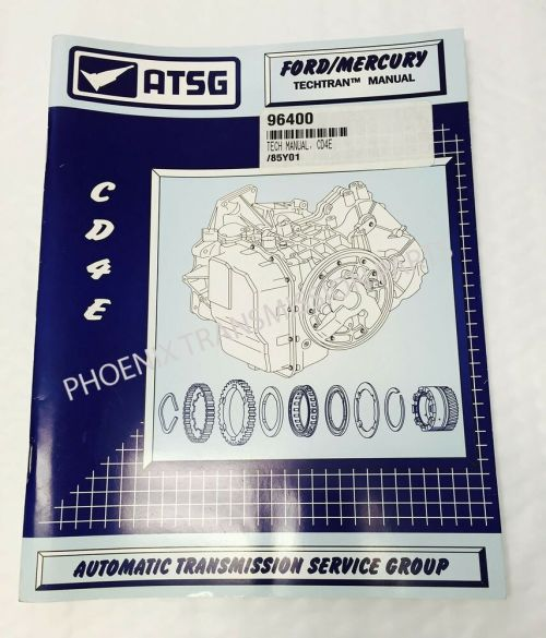 small resolution of details about cd4e transmission atsg technical service and repair manual for ford