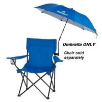 Folding Umbrella Clamp On For Outdoor Chair Beach Camping ...