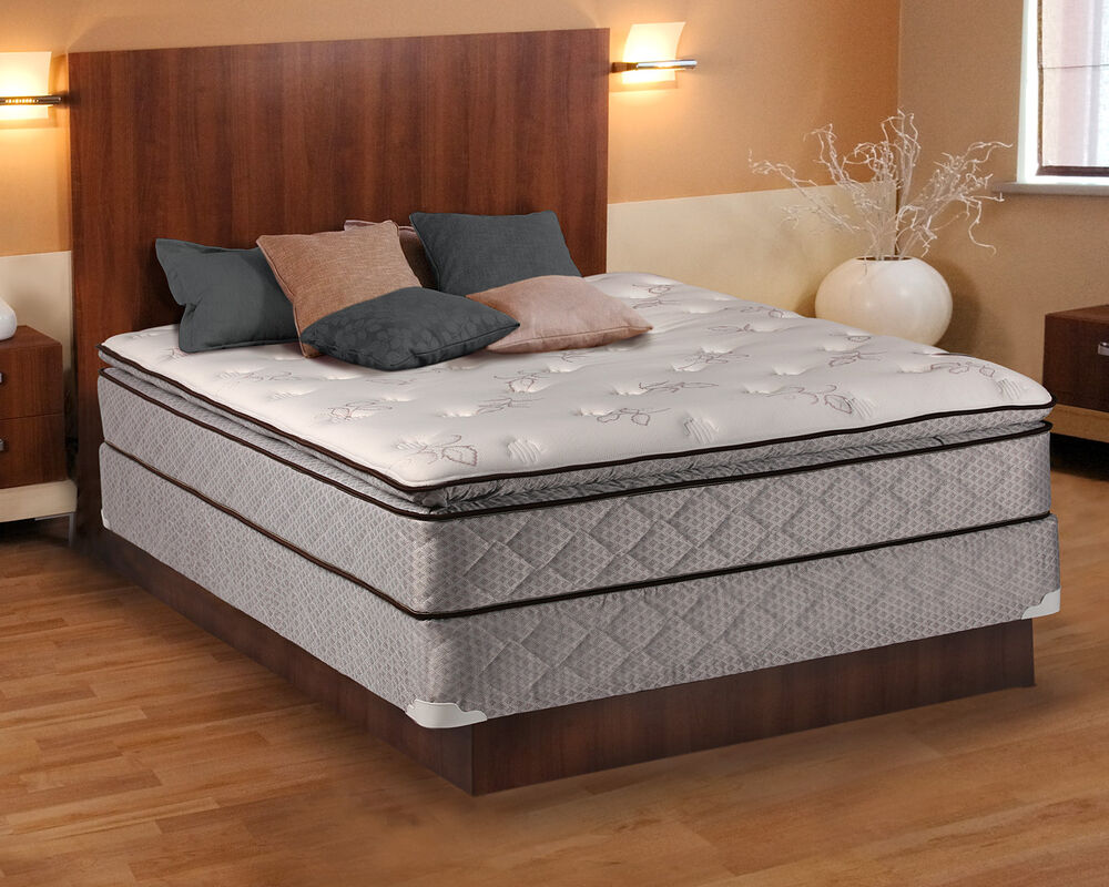 Madison Pillowtop Queen Size Mattress and Box Spring Set