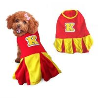 High Quality Dogs Costume - CHEERLEADER DOG COSTUMES ...