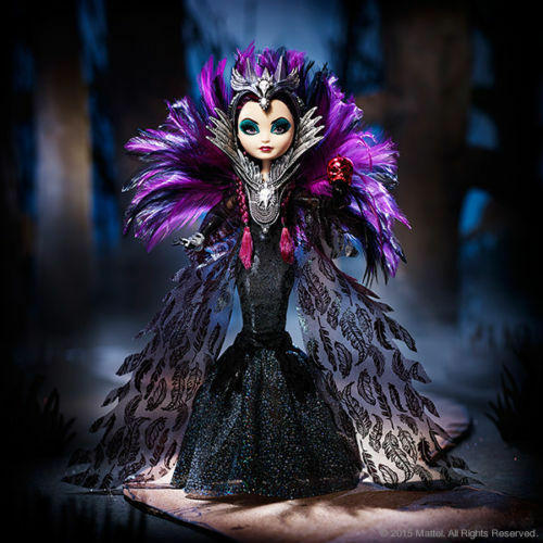 Sdcc 2015 Ever After High Evil Raven Queen Exclusive Eah