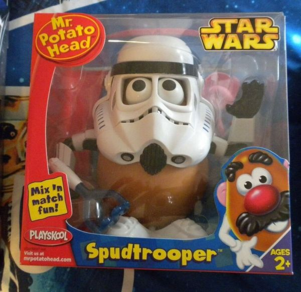 Star Wars . Potato Head Spudtrooper Playskool 2005