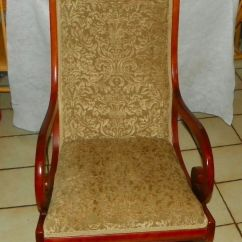 Antique Chairs Ebay Office Chair Height Mahogany Rocker / Rocking By Statesville (r190) |