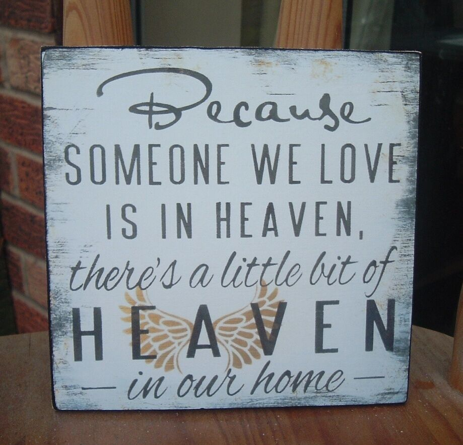 Download shabby vintage chic BECAUSE SOMEONE WE LOVE IS IN HEAVEN ...