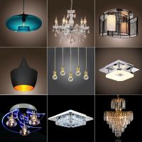Modern Crystal Chandelier Ceiling Light Pendant Lamp 9 ...