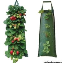 6 x Fabric Hanging Planter Grow Bag Pouch Tomato Herbs ...