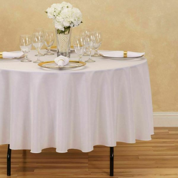 Round Tablecloth Table Linens