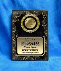 Super Employee Custom Personalized Award Plaque
